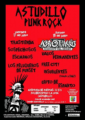 Festival Astudillo Punk-Rock