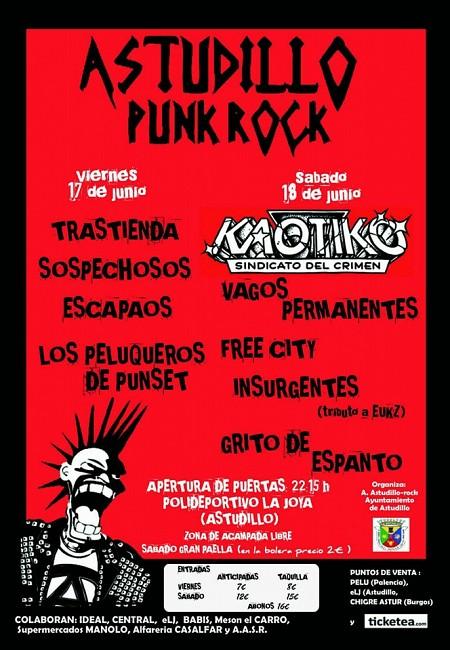 Festival Astudillo Punk-Rock