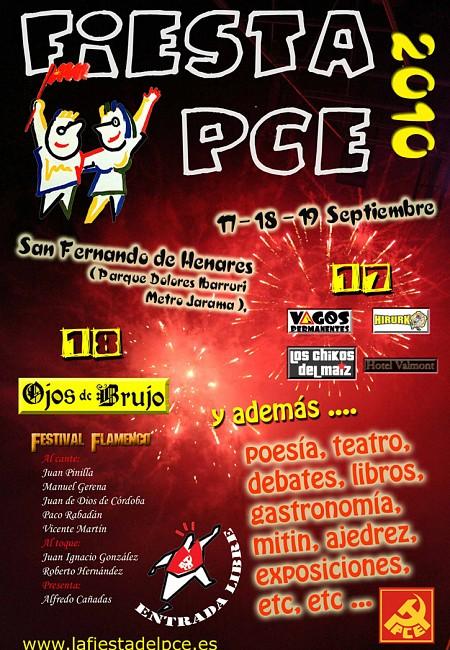 Fiestas del PCE 2010