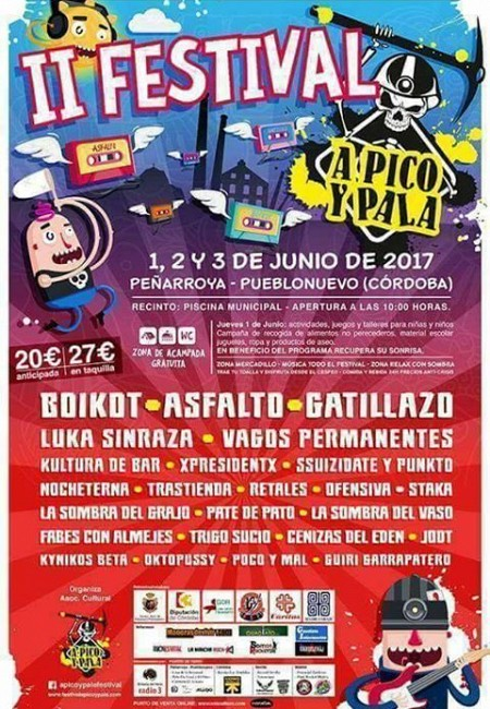 II Festival A pico y pala