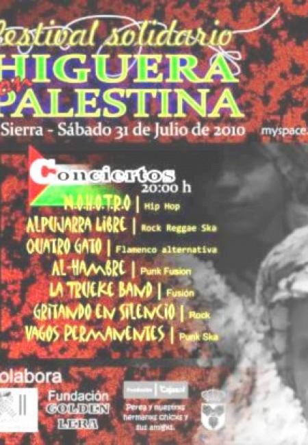 VI Festival Solidario Higuera Palestina