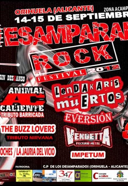 Desamparados Rock 2012