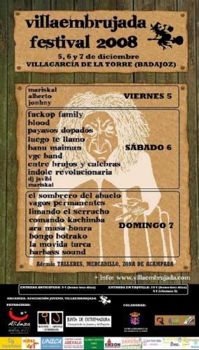 Villaembrujada 2008: Vagos Permanentes + Grupos por confirmar
