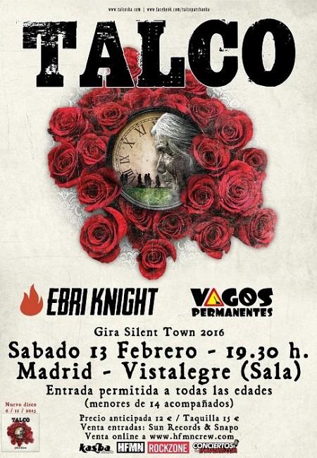 Talco + Vagos Permanentes + Ebri Knight