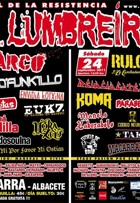 Aupa Lumbreiras!! 2011