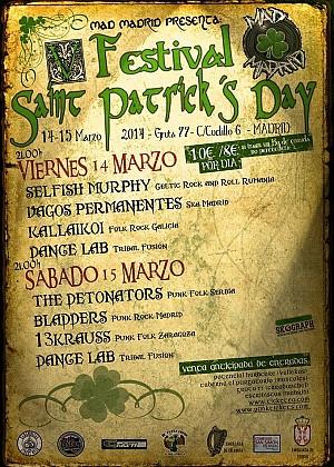 Festival Saint Patrick's Day