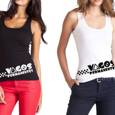 Camiseta de Chica Vagas Permanentes